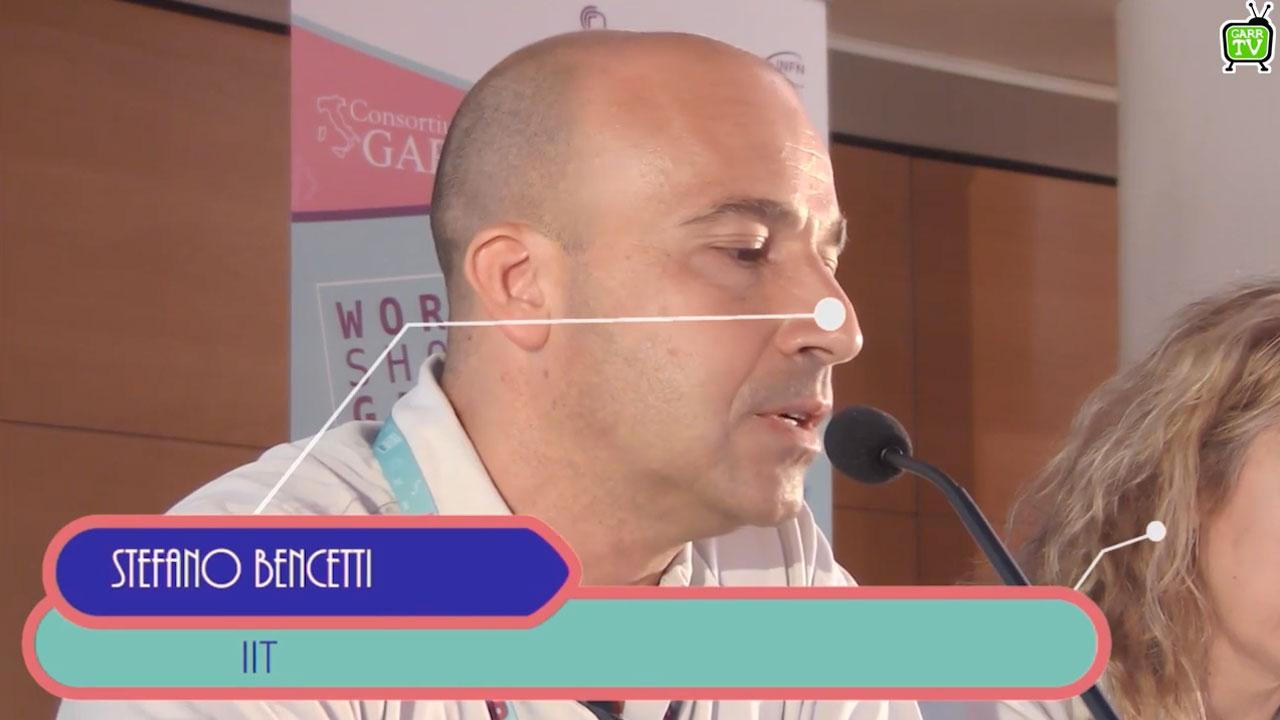 Stefano Bencetti e l'esperienza dell'IIT - Workshop GARR 2018