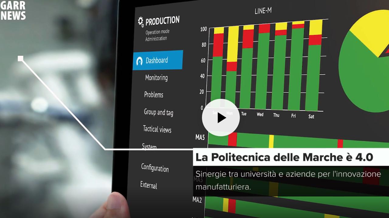 La Politecnica delle Marche è 4.0 - Incontro con Sauro Longhi, UNIVPM, GARR